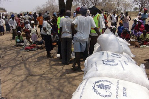 Zimbabwe Food crisis - soruce WFP R. Lee