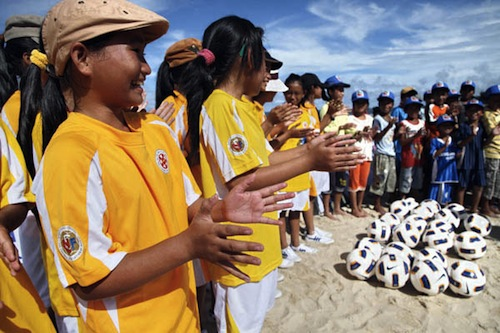 Children football - source FAO