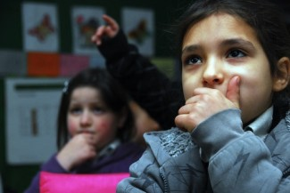 Children refugees West Bank - source UNRWA