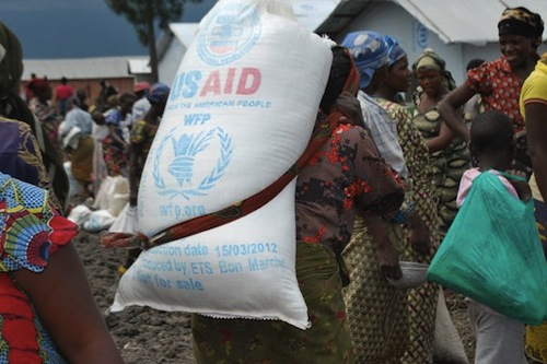 Congo WFP operation - source WFP