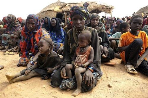 Mali refugees - source UN