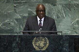 Namibia president at  UN - source UN