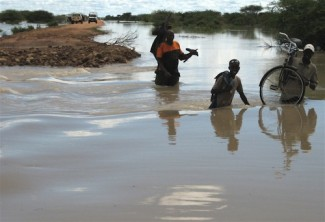 Niger flooding - source IRIN Richard Lough