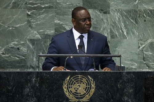 Senegal president
