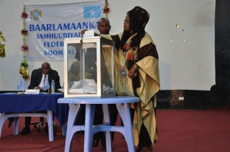 Somalia Parliament vote - source UNPOS