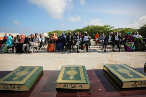 Somalia first parliament - source UN