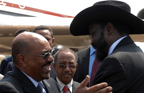 Sudan South Sudan presidents - source UN