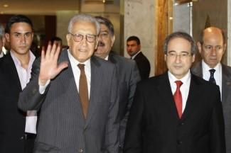 Syria Βrahimi Damascus - souece UN