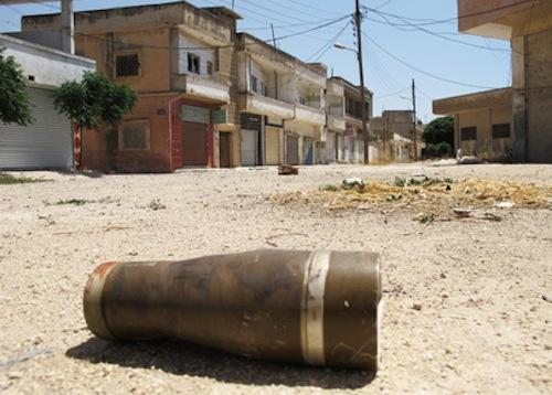 Syria Homs - source UN
