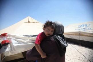 Syria refugees - source UNHCR