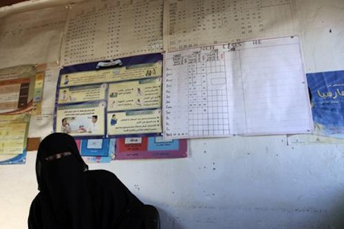 Yemen Kharaz Refugee Camp - source UN