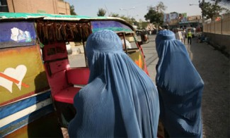 Afghan women - source UN