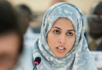 Alya Ahmed Saif Al-Thani, Permanent Representative of Qatar to the UN Office