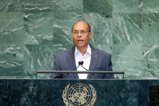 Moncef Marzouki, President of the Republic of Tunisia