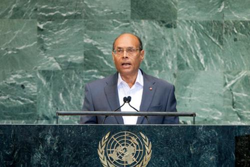 Moncef Marzouki, President of the Republic of Tunisia