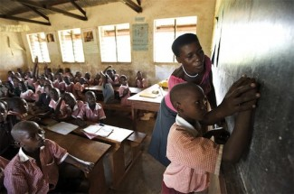 Uganda class - source UNICEF