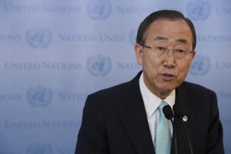Ban Ki-moon - source UN