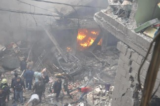 Damascus bomb