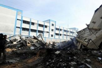 Gaza attack Interior Ministry - source UN
