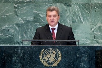 Gjorge Ivanov, President of the former Yugoslav Republic of Macedonia