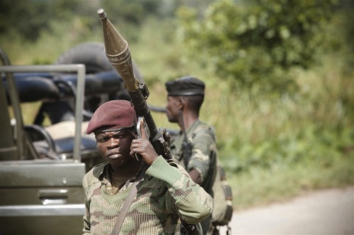 Soldiers Congo - source IRIN