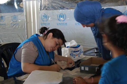 Syrian refugees - UN