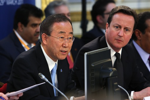 UK hosts conference on Libya