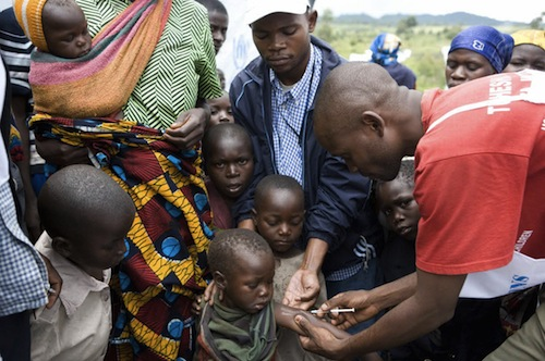 Chilldren - vaccine measles _ WHO