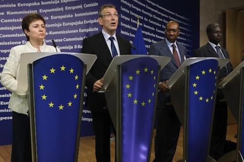 EU Piebalgs and Georgieva - source EU