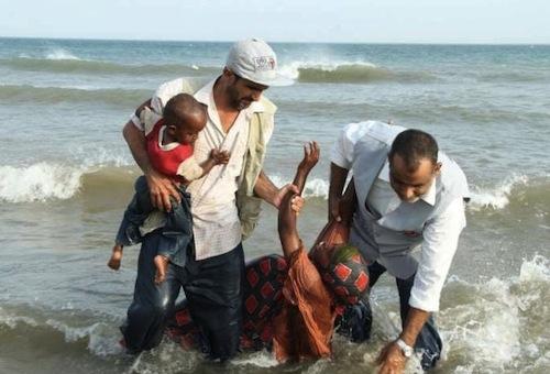Gulf of aden - refugees - SHS UNHCR