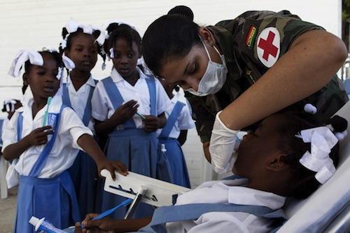 Haiti - children health - UN