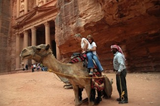Jordan tourists - UNWTO