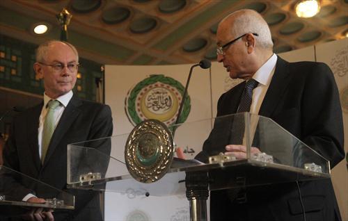 Rompuy and Elaraby - Cairo - EU