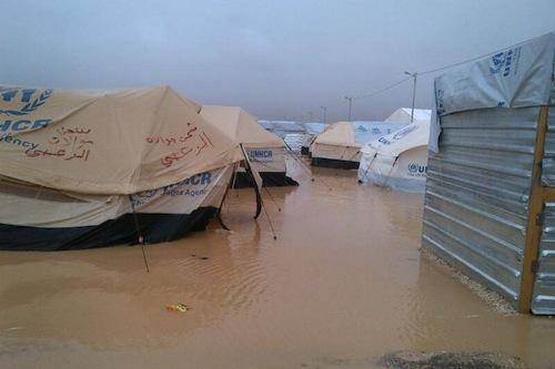 Syria refugees northern Jordan - UNICEF