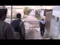 Syria  Moment of Sniper Killing Al Jazeera journalist Mohammed al-Horani in Daraa