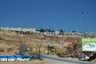 West Bank Israeli settlement - IRIN