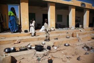 Darfur displaced people - UNAMID