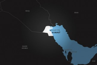 Kuwait_map - HRW