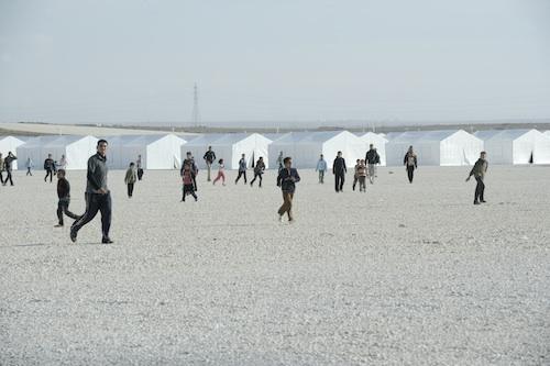 Views of the Zaatri Refugee Camp