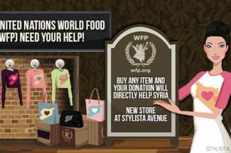 Stylista online game - WFP