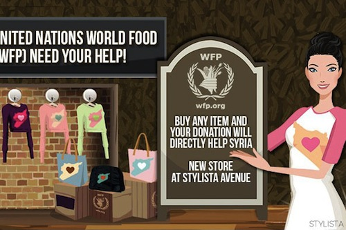 Online Fashion Game Allows Players To Support Un Emergency Response In Syria Alyunaniya