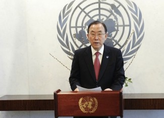 Ban Ki-moon SG UN - UN