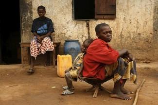 Central African Republic - childern - UNHCR