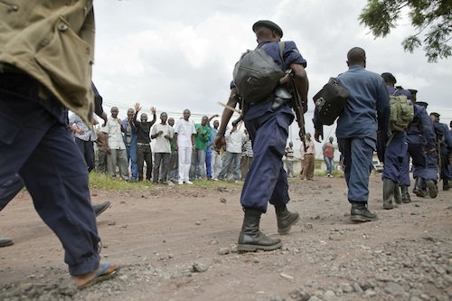 M23 Withdraw from Goma