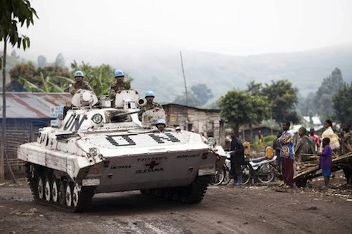Congo UN peacekeepers - UN