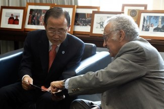 Ki-moon - Brahimi - UN