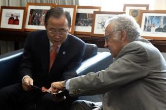 Ki-moon - Brahimi - UN