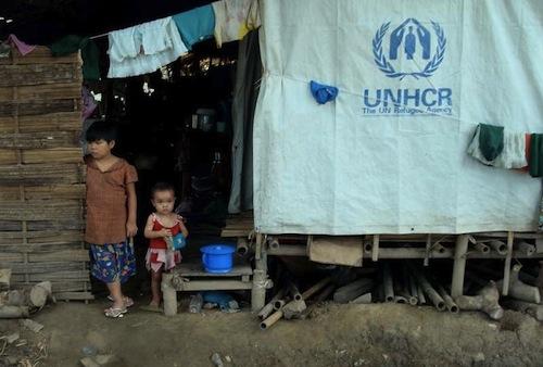 Myanmar refugees - UNHCR
