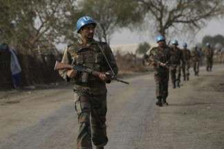 South Sudan UN patrol - UNMISS