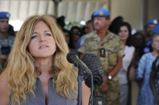 South Sudan envoy -Hilde Johnson - UN